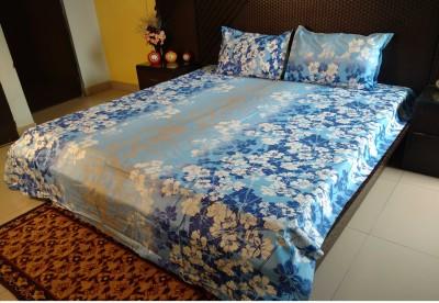 Ramabhakta Cotton Floral Double Bedsheet