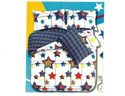 Sudesh Handloom Cotton Abstract King sized Double Bedsheet