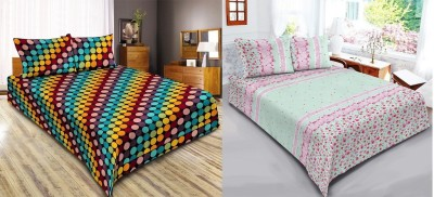 D&Y Polyester Printed Double Bedsheet