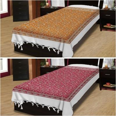 Adithya Cotton Printed Single Bedsheet