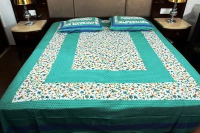Naiwal Fashion Cotton Floral Double Bedsheet