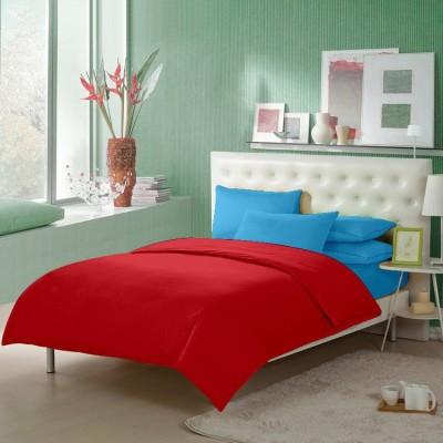 Happy Life Cotton Plain Double Bedsheet