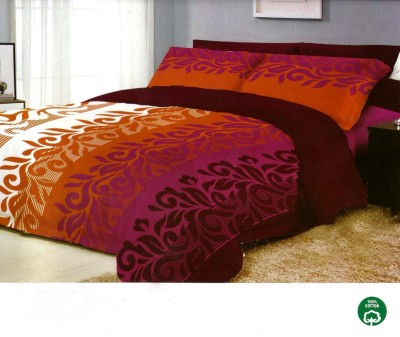 Ryancasa Cotton Geometric Double Bedsheet