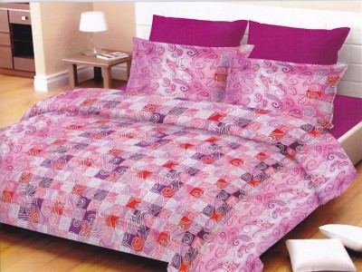 Lali Prints Cotton Floral Double Bedsheet