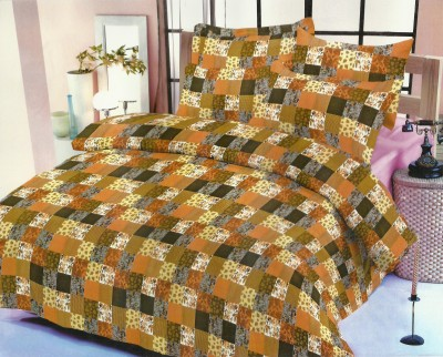Madhavs Cotton Abstract Double Bedsheet