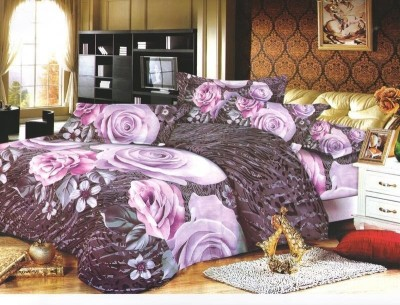 Stylistry Polycotton Abstract Queen sized Double Bedsheet