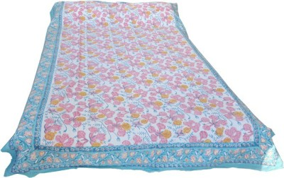 Shreeka Cotton Printed Single Bedsheet