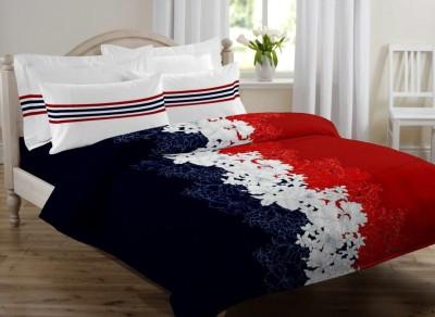 Desirica Cotton Floral Double Bedsheet