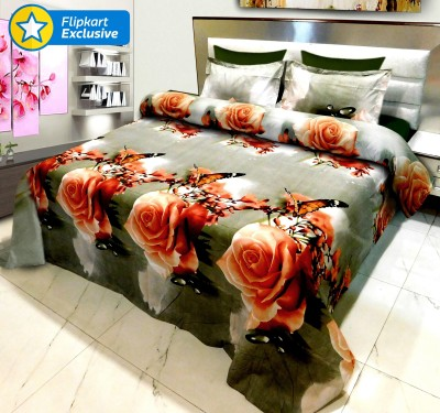Signature Polycotton Floral King sized Double Bedsheet