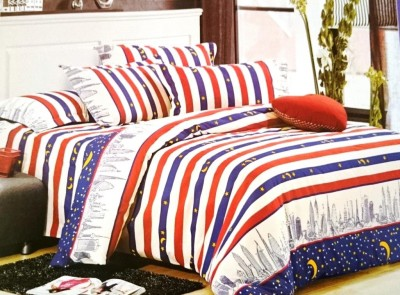 Jojo Designs Polycotton Printed Double Bedsheet