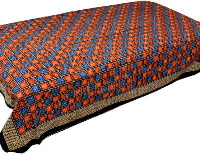 Little India Cotton Checkered Single Bedsheet