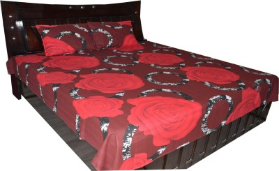 Fabbig Cotton Floral Double Bedsheet