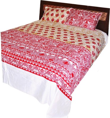 The perfect comfort Cotton Printed Double Bedsheet