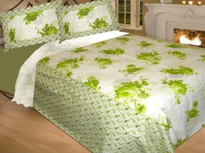 Pakeezah Cotton Floral Double Bedsheet