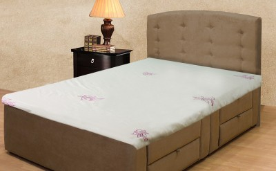 Milano Home Cotton Embroidered Single Bedsheet