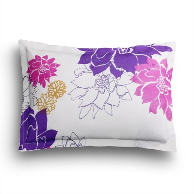 SEJ by Nisha Gupta Cotton Floral King sized Double Bedsheet