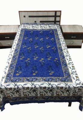 MARUDHARA Cotton Printed Single Bedsheet