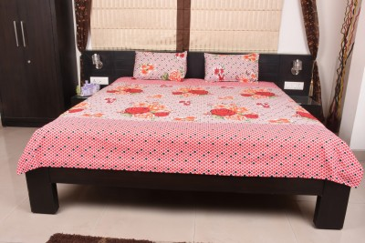 Home Creations Polycotton Floral Double Bedsheet