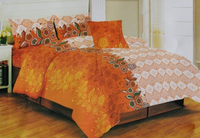NS Cotton Abstract Double Bedsheet