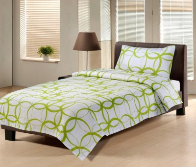 Hemlines Polyester Abstract Single Bedsheet