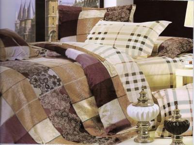 Sanaya Cotton Abstract Double Bedsheet