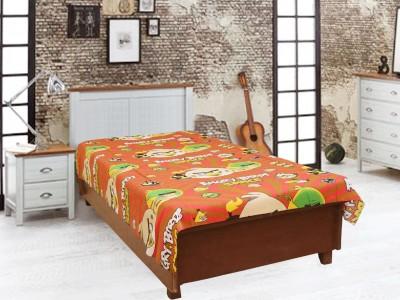 Elegance Cotton Cartoon Single Bedsheet
