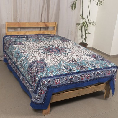 Ocean Home Store Cotton Printed Double Bedsheet