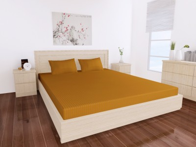 Dreams Cotton Plain Queen sized Double Bedsheet