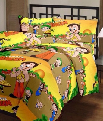 Excel Bazaar Cartoon Polycotton Bedding Set