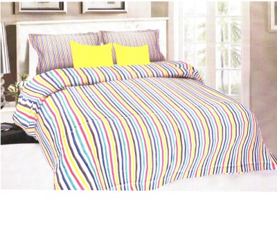 Florida Cotton Striped Queen sized Double Bedsheet