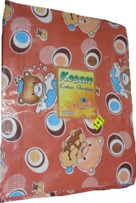 RK Cotton Cartoon Single Bedsheet