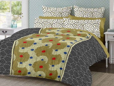 Desi Connection Cotton Printed Double Bedsheet