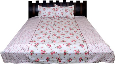 Nathi and Nancy Cotton Floral Double Bedsheet