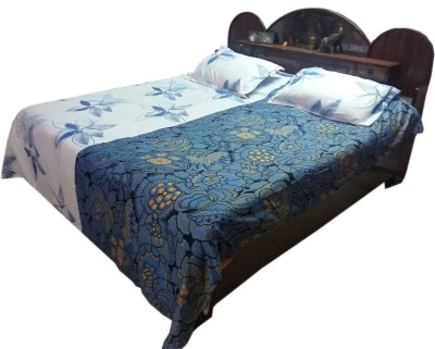 Shreem 2015 Polycotton Floral Double Bedsheet