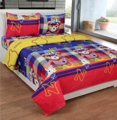 Kelly Polycotton Cartoon Double Bedsheet