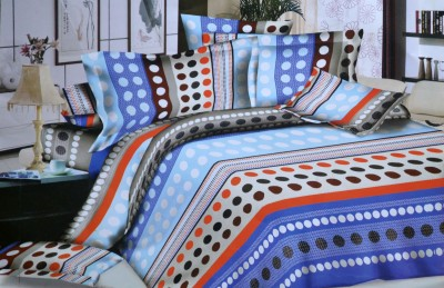 Onze Polycotton Printed Queen sized Double Bedsheet
