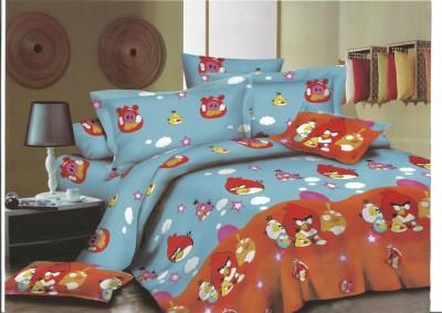 Mystic Cotton Cartoon Double Bedsheet