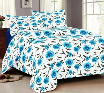NH Cotton Goldstar Cotton Floral Double Bedsheet