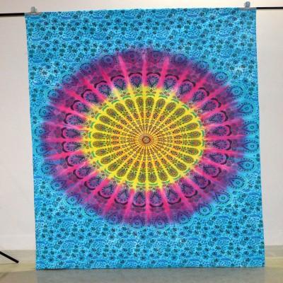 Marusthali Cotton Floral Single Bedsheet