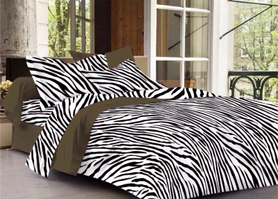 CORAL BELLS Cotton Animal Double Bedsheet