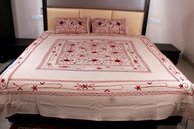 Aarav Collection Cotton Printed Double Bedsheet