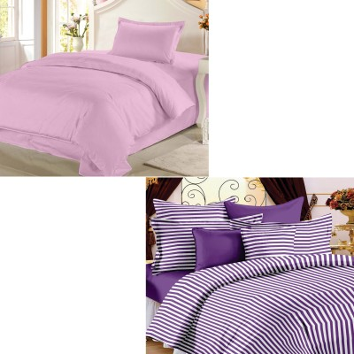Story @ Home Cotton Striped Single Bedsheet