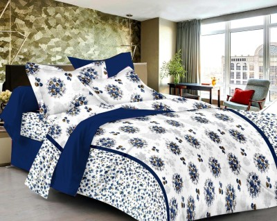 Softon Cotton Printed Double Bedsheet