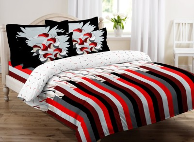 Beguile Cotton Abstract King sized Double Bedsheet