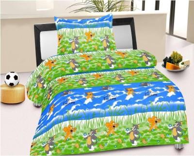 Fresh From Loom Cotton Cartoon Single Bedsheet