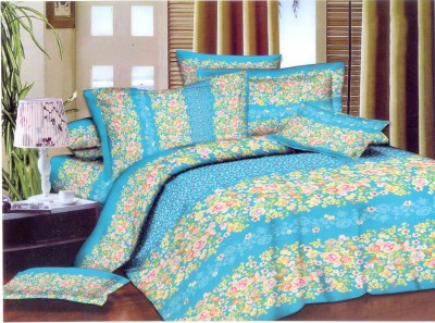 Queensland Cotton Floral Double Bedsheet