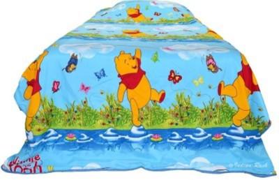 Idesign Cotton Cartoon Single Bedsheet