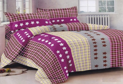 Lali Prints Cotton Printed Double Bedsheet