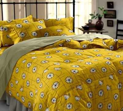 Dreamscape Cotton Floral Double Bedsheet