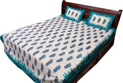 Vintage Krafts Cotton Floral Double Bedsheet